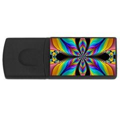 Fractal Butterfly USB Flash Drive Rectangular (2 GB)