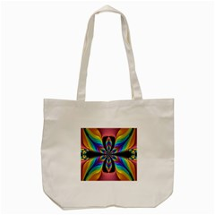 Fractal Butterfly Tote Bag (cream)