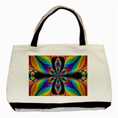 Fractal Butterfly Basic Tote Bag (Two Sides)