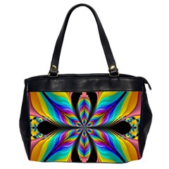 Fractal Butterfly Office Handbags (2 Sides)