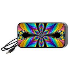 Fractal Butterfly Portable Speaker (Black)