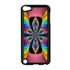 Fractal Butterfly Apple Ipod Touch 5 Case (black)