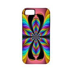 Fractal Butterfly Apple Iphone 5 Classic Hardshell Case (pc+silicone)
