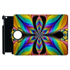 Fractal Butterfly Apple iPad 3/4 Flip 360 Case