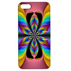 Fractal Butterfly Apple iPhone 5 Hardshell Case with Stand