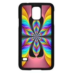 Fractal Butterfly Samsung Galaxy S5 Case (black)