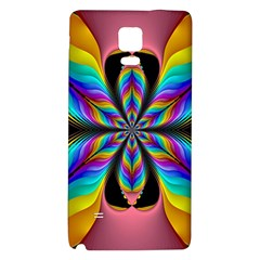 Fractal Butterfly Galaxy Note 4 Back Case