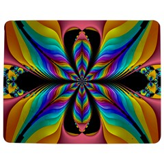 Fractal Butterfly Jigsaw Puzzle Photo Stand (Rectangular)