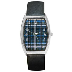 3d Effect Apartments Windows Background Barrel Style Metal Watch