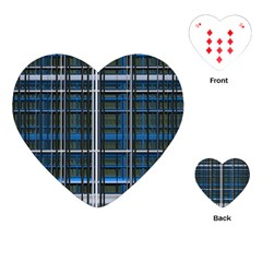 3d Effect Apartments Windows Background Playing Cards (heart)