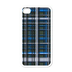 3d Effect Apartments Windows Background Apple Iphone 4 Case (white)
