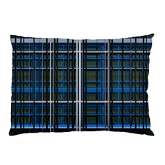 3d Effect Apartments Windows Background Pillow Case (Two Sides)