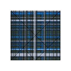 3d Effect Apartments Windows Background Acrylic Tangram Puzzle (4  x 4 )