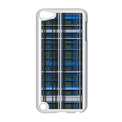 3d Effect Apartments Windows Background Apple iPod Touch 5 Case (White)