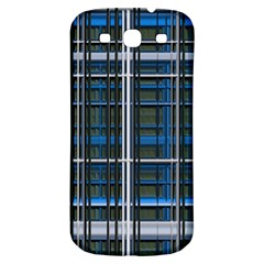 3d Effect Apartments Windows Background Samsung Galaxy S3 S Iii Classic Hardshell Back Case
