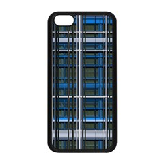 3d Effect Apartments Windows Background Apple iPhone 5C Seamless Case (Black)