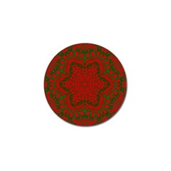 Christmas Kaleidoscope Golf Ball Marker (4 pack)