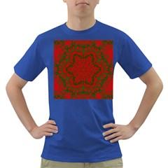 Christmas Kaleidoscope Dark T Shirt