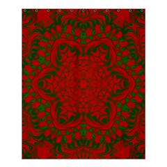 Christmas Kaleidoscope Shower Curtain 60  x 72  (Medium)