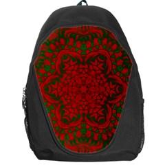 Christmas Kaleidoscope Backpack Bag