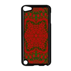 Christmas Kaleidoscope Apple Ipod Touch 5 Case (black)