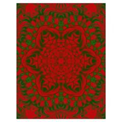 Christmas Kaleidoscope Drawstring Bag (Large)