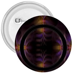 Wallpaper With Fractal Black Ring 3  Buttons