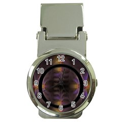 Wallpaper With Fractal Black Ring Money Clip Watches