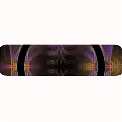 Wallpaper With Fractal Black Ring Large Bar Mats
