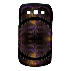 Wallpaper With Fractal Black Ring Samsung Galaxy S Iii Classic Hardshell Case (pc+silicone)