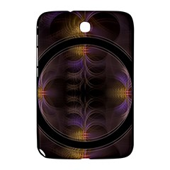 Wallpaper With Fractal Black Ring Samsung Galaxy Note 8.0 N5100 Hardshell Case
