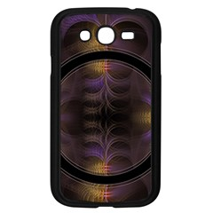 Wallpaper With Fractal Black Ring Samsung Galaxy Grand Duos I9082 Case (black)