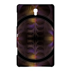Wallpaper With Fractal Black Ring Samsung Galaxy Tab S (8 4 ) Hardshell Case