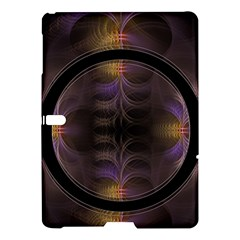 Wallpaper With Fractal Black Ring Samsung Galaxy Tab S (10.5 ) Hardshell Case