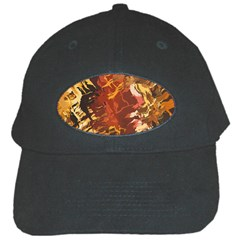 Abstraction Abstract Pattern Black Cap