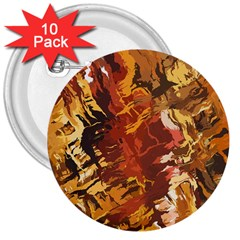 Abstraction Abstract Pattern 3  Buttons (10 Pack)