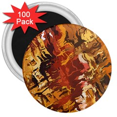 Abstraction Abstract Pattern 3  Magnets (100 pack)
