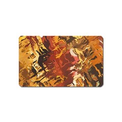 Abstraction Abstract Pattern Magnet (Name Card)