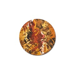 Abstraction Abstract Pattern Golf Ball Marker (4 Pack)