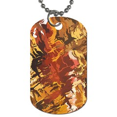 Abstraction Abstract Pattern Dog Tag (two Sides)