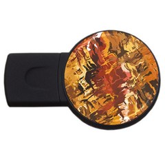 Abstraction Abstract Pattern USB Flash Drive Round (2 GB)