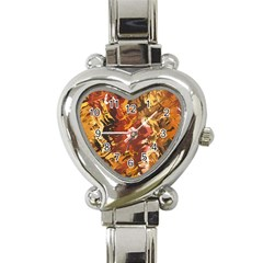 Abstraction Abstract Pattern Heart Italian Charm Watch