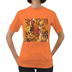 Abstraction Abstract Pattern Women s Dark T-Shirt