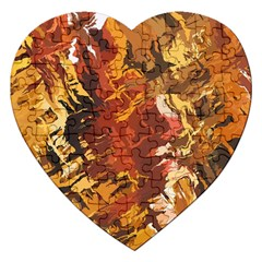 Abstraction Abstract Pattern Jigsaw Puzzle (Heart)