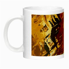 Abstraction Abstract Pattern Night Luminous Mugs