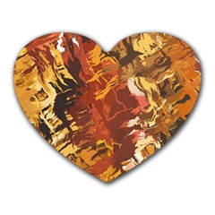 Abstraction Abstract Pattern Heart Mousepads