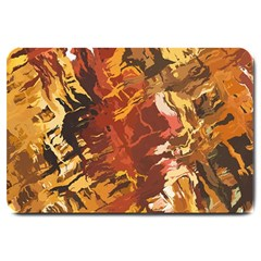Abstraction Abstract Pattern Large Doormat