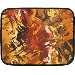 Abstraction Abstract Pattern Double Sided Fleece Blanket (Mini)