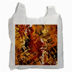 Abstraction Abstract Pattern Recycle Bag (one Side)