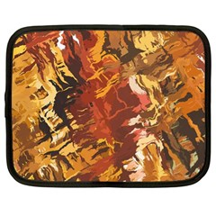 Abstraction Abstract Pattern Netbook Case (xl)